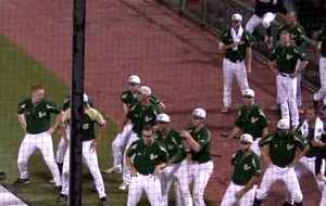 Dance Off USF vs Uconn 2009 Big East Baseball Tournament